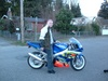 me and my gix 750 - Click To Enlarge Picture
