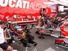Ducati pit area - Click To Enlarge Picture