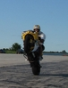 Marcs Wheelie. - Click To Enlarge Picture