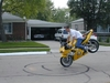 Smiley Stoppie - Click To Enlarge Picture