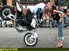 Stoppie Kiss - Click To Enlarge Picture