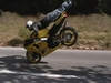 A Real Stoppie - Click To Enlarge Picture