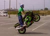 Kawi Wheelie - Click To Download Video