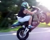 A Nice Wheelie - Click To Download Video
